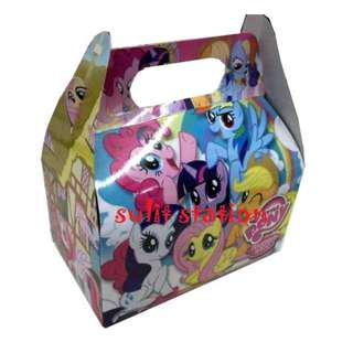 MLP MY LITTE PONY PARTY DONUT MUNCHKINS LOOT BOX BAG giveaways souvenirs favor needs