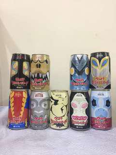 Ultraman Monsters Cans