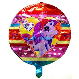 MLP MY LITTLE PONY PARTY MYLAR FOIL ROUND BALLOONS giveaways souvenirs needs favor