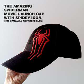 Brand New The Amazing Spiderman Movie Launch Cap. Specially designed for the event.