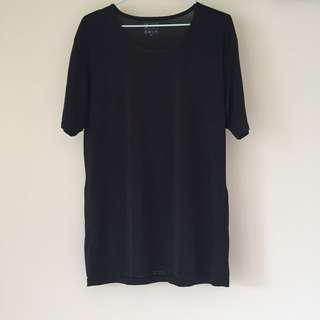 親密寶貝親膚排汗衫 (黑色)