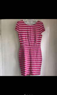 Forever 21 Bodycon Pink Dress