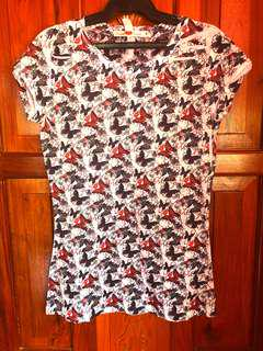 Pre-loved Never Been Kissed Butterfly Top