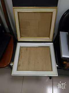 畫框  木頭鋁框 玻璃面