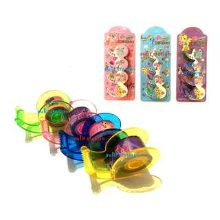 MLP MY LITTLE PONY WASHI DECORATIVE DESIGN TAPE with DISPENSER