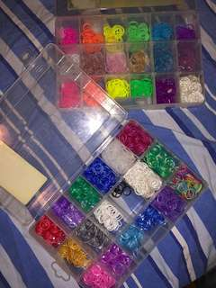Authentic Rainbow loom bands