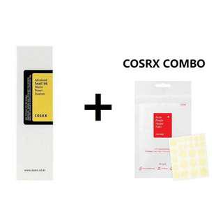Cosrx Snail Mucin and Acne Pimple Master Patch Combo