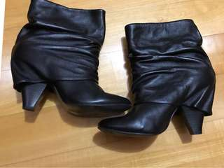 Leather Boots 羊仔皮