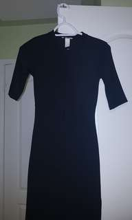 BNWT black H&M dress