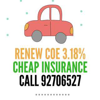 COE Renewal (Vehicles only)