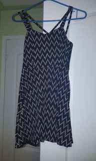 Aeropostale black mini dress