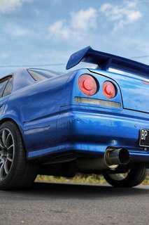 Nissan Skyline R34 GTT RB25Det