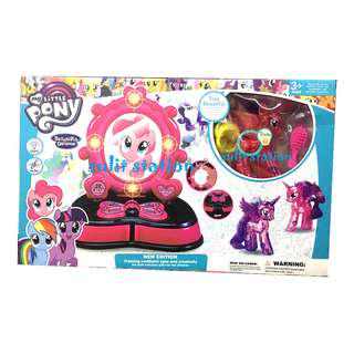 MLP MY LITTLE PONY VANITY KIT WARE TOYS