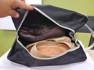 Shoe bag with handy