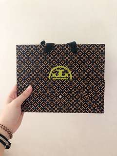 Tory Burch Paperbag Size S