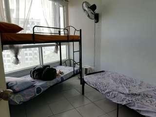 Mezza Residences condominium bedspace for rent