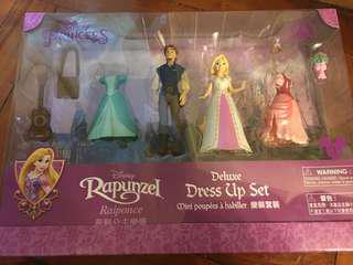 HK Disneyland 長髮公主 換衫玩具