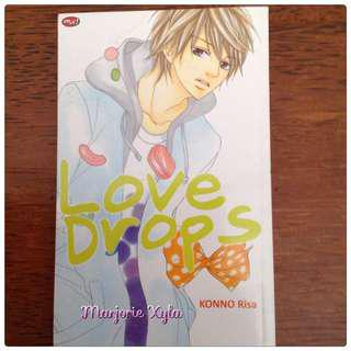 Komik One Shot - Love Drops - Konno Risa