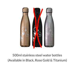 Changi Airport T4 Stainless Steel Water Bottle