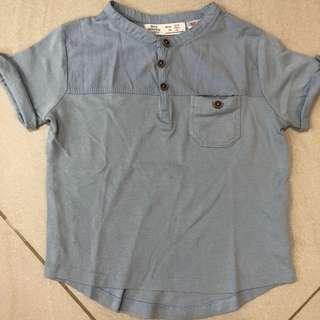 Authentic Zara Baby Shirt Year 2-3