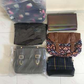 Woman slingbag bagpack handbag