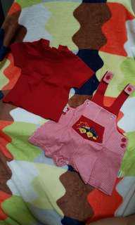 Preloved baby set fashions