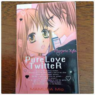 Komik One Shot - Pure Love Twitter - Mamura Mio