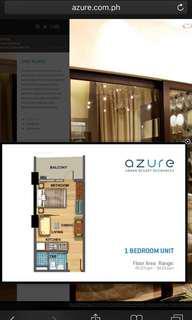 Assume balance Azure Residences 1 bedroom unit