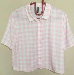 tartan shirt h&m
