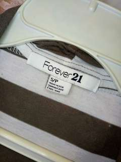 Forever 21 2in1 strip top
