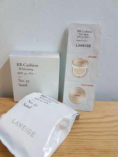 #bundlesforyou set- Laneige BB Cushion Whitening & Anti aging