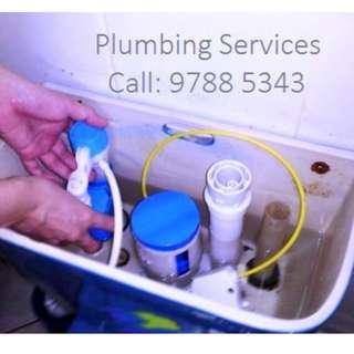Plumbing Services, Plumber Work, Plumbing Installation, Toilet Bowl