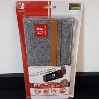 Nintendo Switch Casing Felt Pouch from JAPAN Sexy