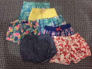 TAKE ALL Branded Baby Shorts 2-3T