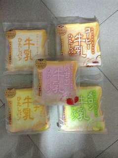 100%正版AOYOMA TOKYO SQUISHY (Toast old version) 麵包 rare squishy