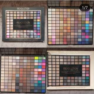 MAKE UP REVOLUTION EYESHADOW PALETTE BUNDLE