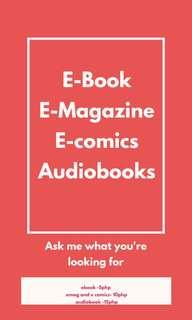 Ebooks | Emagazine | Ecomics | Audiobooks