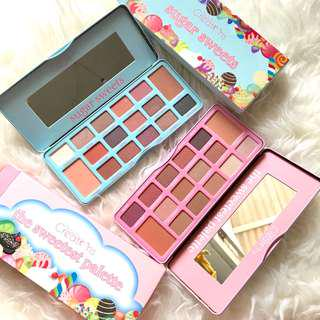 Beauty creations sugar sweets & the sweetest palette