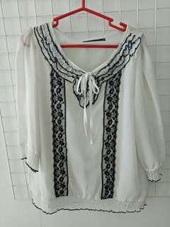 Samlin white blouse