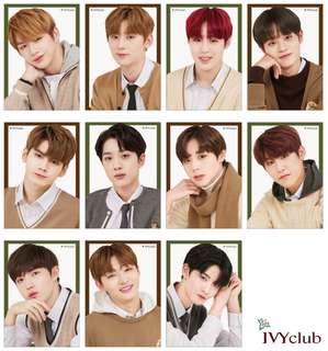Wanna One X Ivy Winter Series Poster