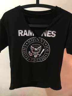 Ramones choker tee