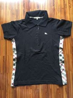 Authentic Burberry Women Polo Shirt