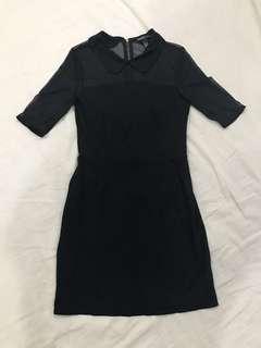 Mango casual little black dress