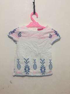 Barbie Embroidered Boho Dress 3-4yo