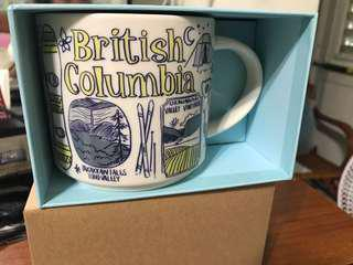 🚚 British Columbia 星巴克 杯