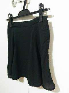 Black skirt size: xs