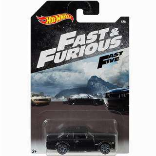 Hotwheels 2018 Fast & Furious Series Nissan Skyline Rare