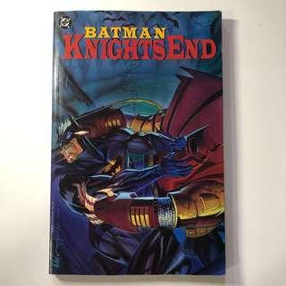 FAST DEAL $10 !! DC Comics BATMAN: KNIGHTS END
