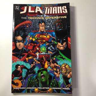 FAST DEAL $10 !! DC Comics JLA/TITANS:THE TECHNIS IMPERATIVE