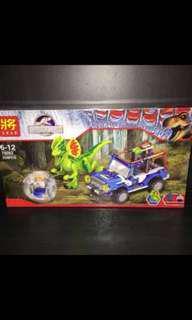 Jurassic Dinosaur Block Toy